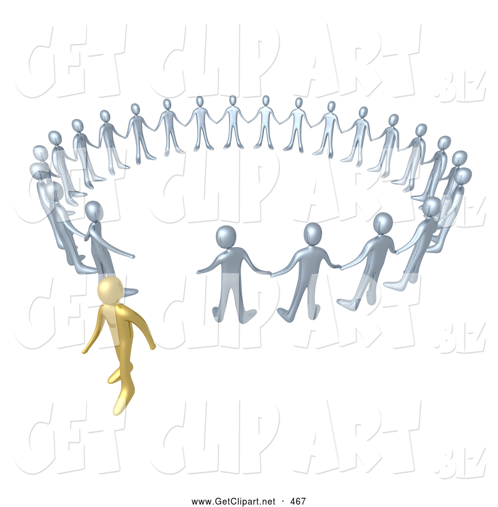 Royalty Free Stock Get Designs of Crowds