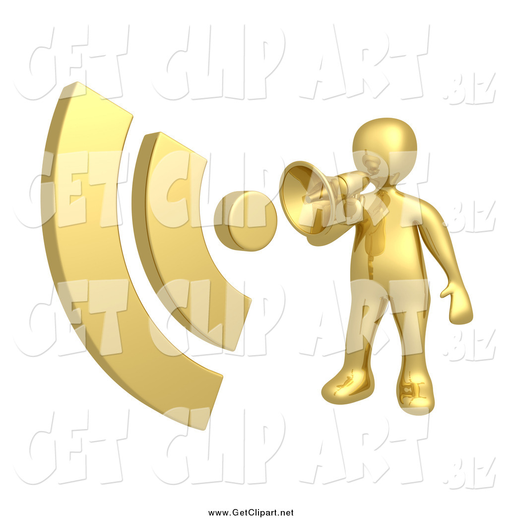 clipart man with megaphone - photo #29